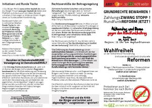 GEZxit Berlin 2017 Falzflyer Vorderseite