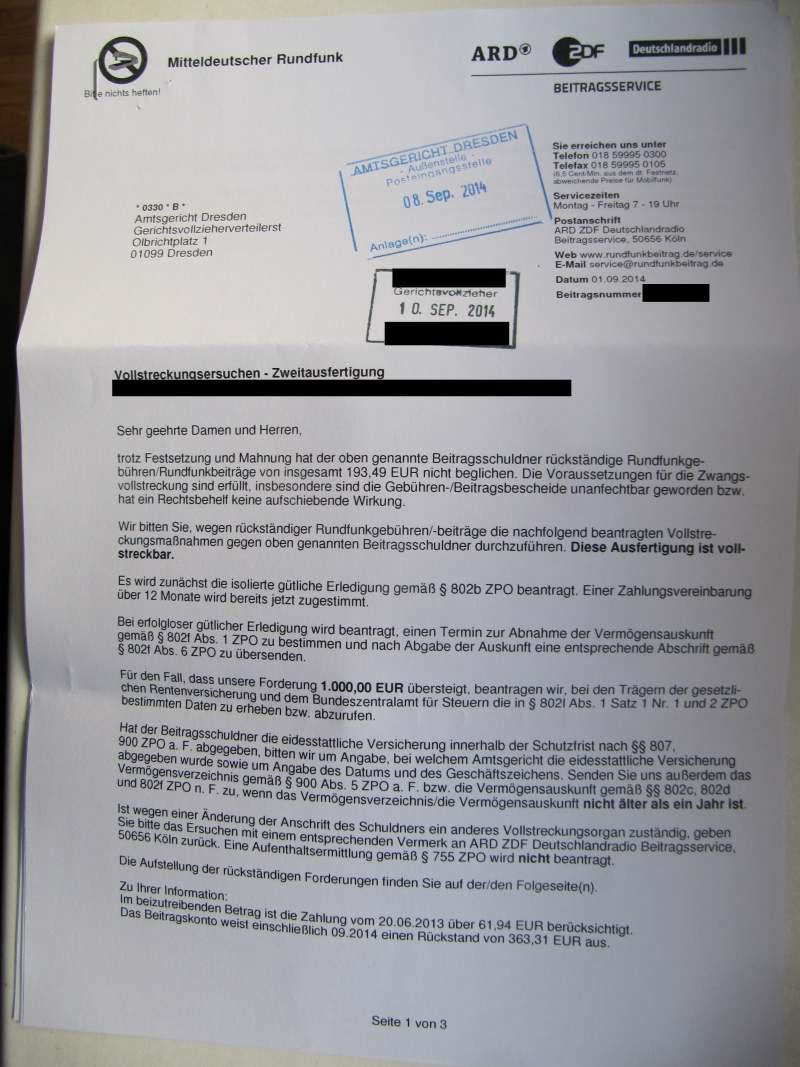 Ablaufschema Kurzübersicht Anmeldung Bescheid Widerspruch Klage